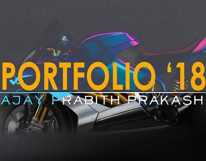 Motorcycle Design Portfolio 2018
