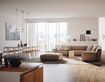 Golden hour apartment