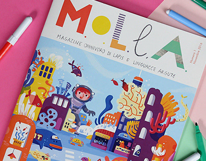 M.O.L.L.A. magazine for curious children, 1st issue
