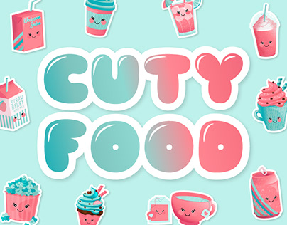 CUTY FOOD Collection - Illustration