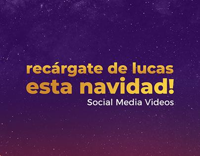 Recargate! Social Media Videos