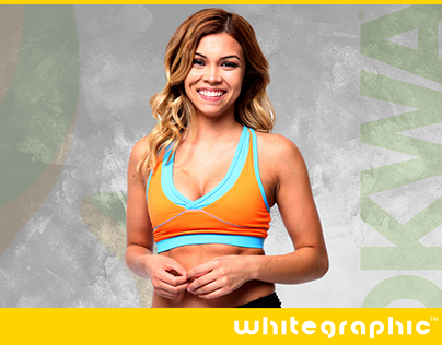 whitegpraphic | BOKWA fitness clothes cover