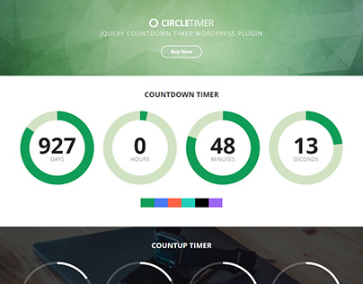 CircleTimer - jQuery Countdown Timer WordPress Plugin
