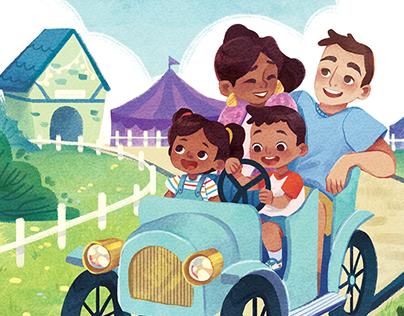 Family Fun Time - Children's Book
