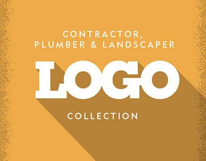 Contractor, Plumber & Landscaper Logos