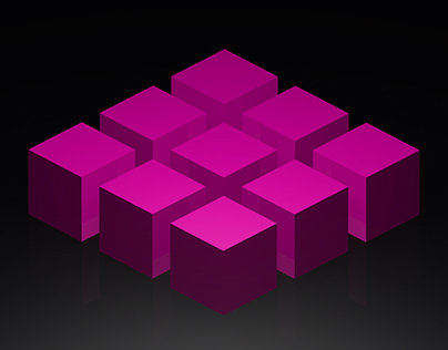 Cube Experiments in Cinema 4D
