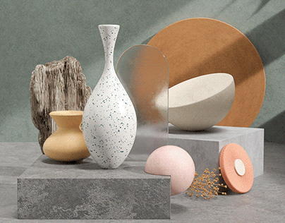Pottery Textured