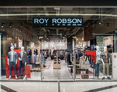 Roy Robson — Освещение для магазина одежды
