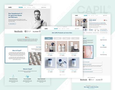 Capil - Online Shop Design