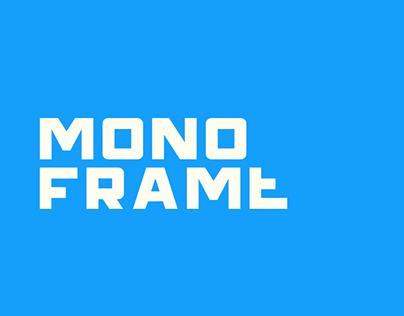 Monoframe Typeface