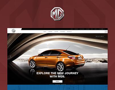 MG (Morris Garages) | Web Design