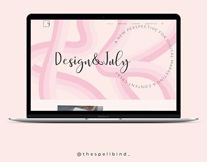 Design&July Design Agency - Website Design & Branding.
