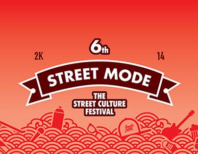 6th Street Mode Festival Identity (2014)