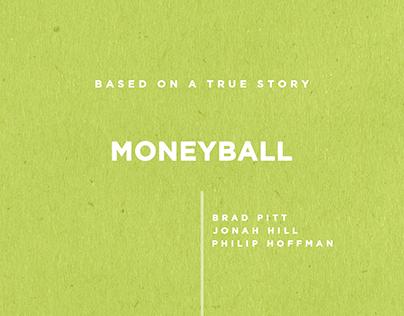 Minimal Poster -- Moneyball