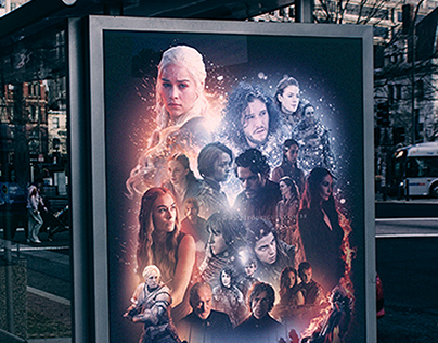 """""""Game of Thrones"""" Poster"""