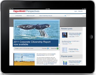 ExxonMobil: Perspectives Blog