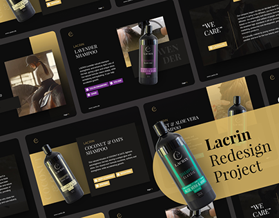Lacrin Redesign Project