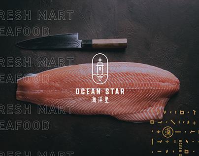 Ocean Star l Visual Identity System