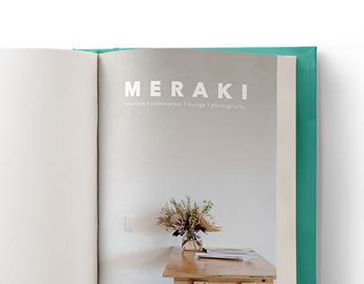 Meraki Magazine - Spreads
