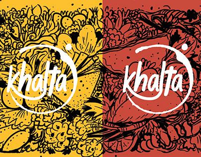 Khalta Restaurant Branding