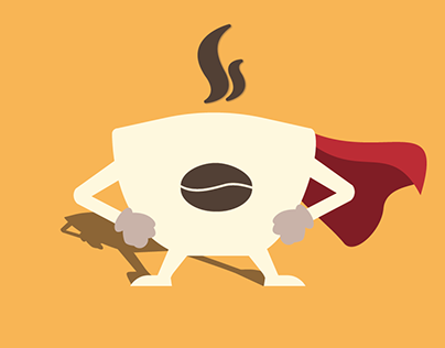 CoffeeCup Superhero