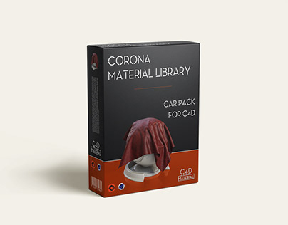 Corona shaders pack for cinema 4d v1.0 - Car Material -
