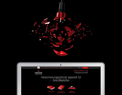 Hiscox - Webdesign
