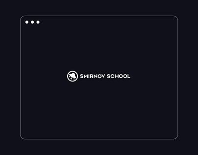 Smirnov school website redesign