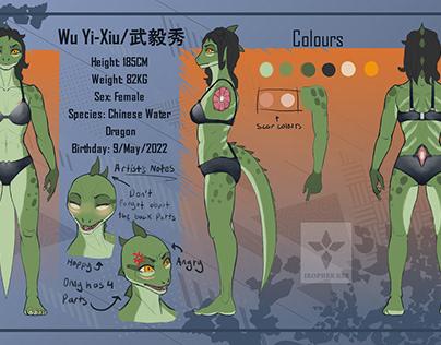 Wu Yi-Xiu (Character Design)