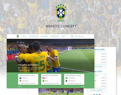 Website Redesign Concept - CBF