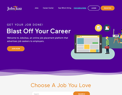 JOB-BOARD WEBSITE FOR EMPLOYERS AND JOB FINDER