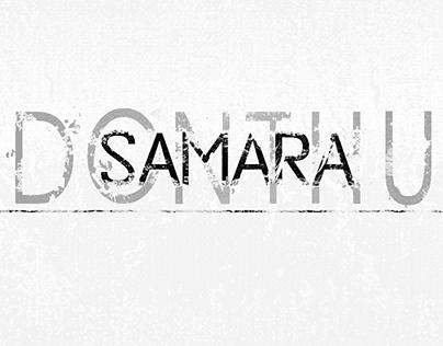 SAMARA DONTHU designs