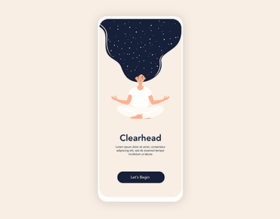 Mental Wellness App (Onboarding)