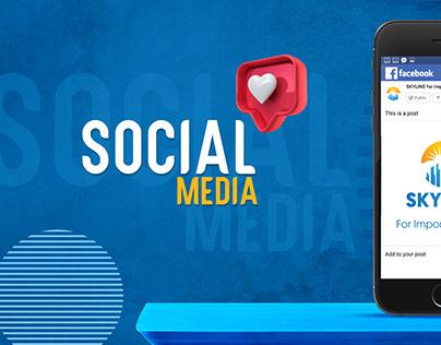 SKY LINE 2 | social media