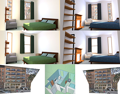 3D Render: Condo, Manhattan