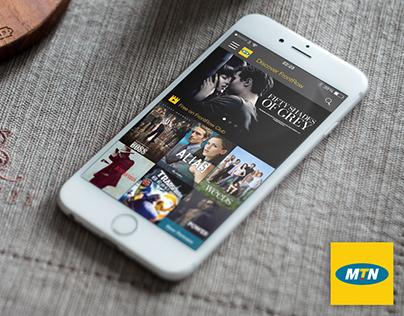 MTN Video on Demand app