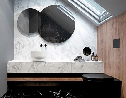 Stylish bathroom project