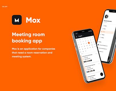Mox – Meeting room booking app