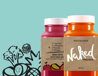 Naked Juice - Rebrand