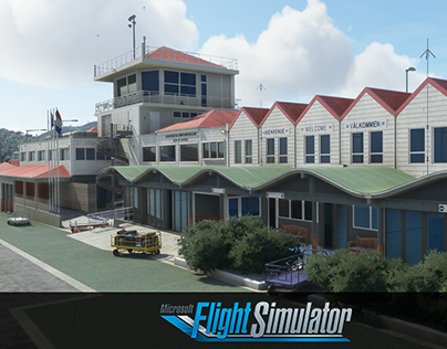 Saint Barthelemy airport Microsoft Flight Simulator