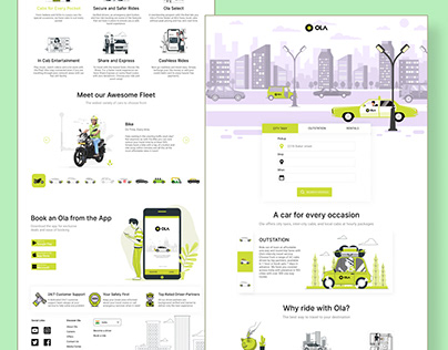 Ola Redesign Concept