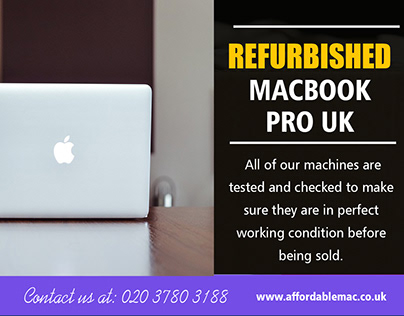 Refurbished Macbook Pro UK