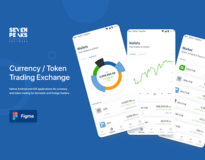 Currency / Token Trading Exchange