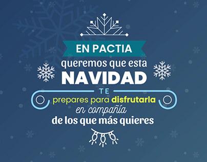 Feliz Navidad PACTIA
