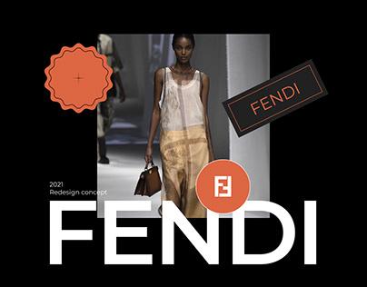 FENDI - website concept