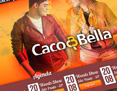 Caco & Bella - Layout
