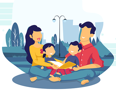 Illustration : Family Love