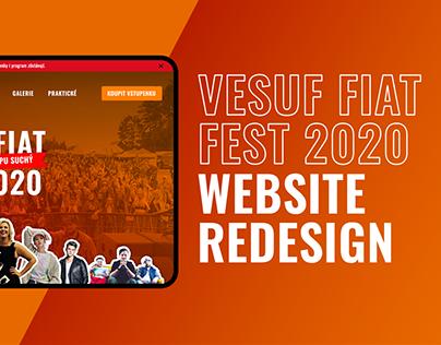 Festival Web Design