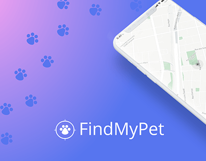 FindMyPet app prototype