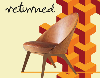 affiche retro chair